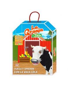Actividades Juega y Aprende con la Vaca Lola la Granja de Zenon