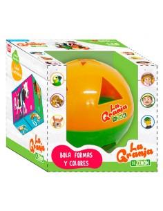 Bola Aprende Formas y Colores Granja de Zenon