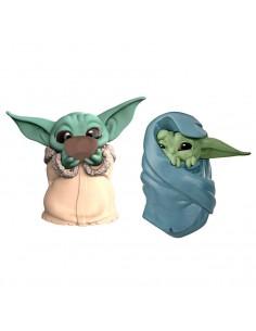 Pack 2 figuras Yoda The Child Star Wars