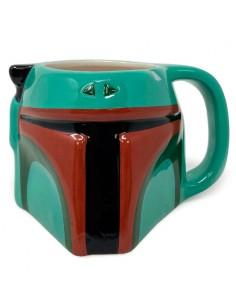 Taza 3D Boba Fett The Mandalorian Star Wars