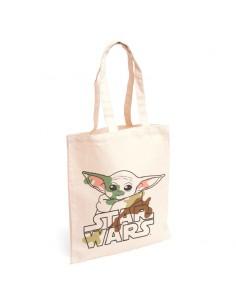 Bolso shopping tela Yoda Child The Mandalorian Star Wars