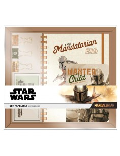 Set papeleria Yoda Child The Mandalorian Star Wars