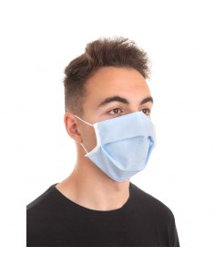 Mascarilla Higienica Protectora azul