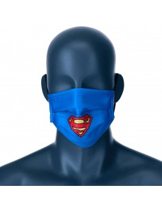 Mascarilla reutilizable Superman DC Comics adulto