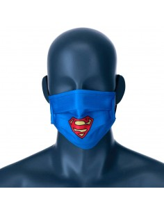 Mascarilla reutilizable Superman DC Comics infantil