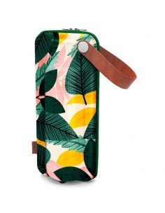Funda botella Flow Autumn Leaves EVA