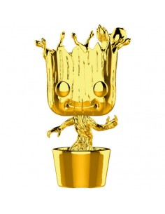Figura POP Marvel Studios 10 Groot Gold Chrome