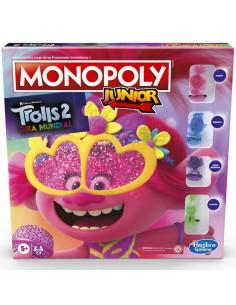 Juego Monopoly Junior Trolls World Tour