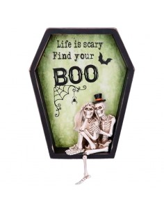 Cuadro Life is Scary Find Your Boo