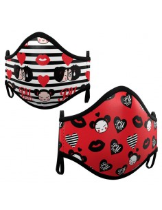 Pack 2 mascarillas Pucca surtido adulto
