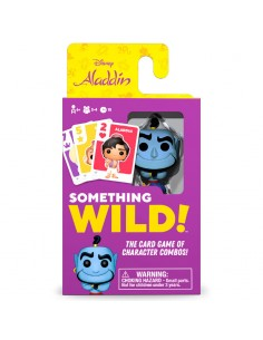 Juego cartas Something Wild Aladdin Disney Aleman Espanol Italiano