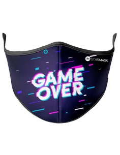 Mascarilla reutilizable Game Over M