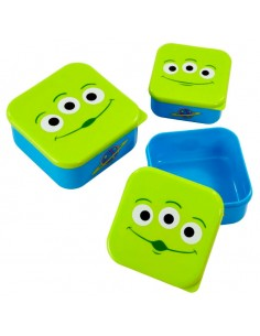 Set 3 tupper Alien Toy Story 4 Disney Pixar