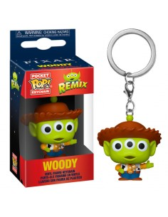 Llavero Pocket POP Disney Pixar Alien Remix Woody