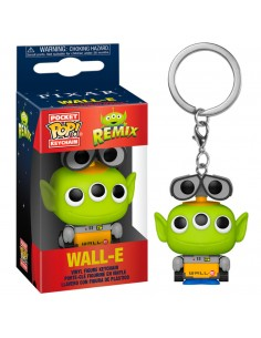 Llavero Pocket POP Disney Pixar Alien Remix Wall E