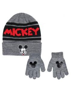Conjunto gorro guantes Mickey Disney