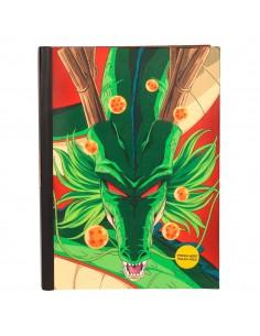 Cuaderno A5 Shenron Dragon Ball luces