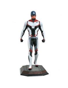Estatua diorama Capitan America Vengadores Avengers Endgame Marvel 23cm