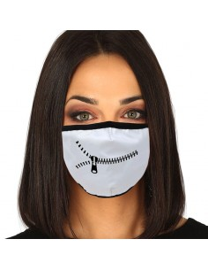 Mascarilla reutilizable 3 capas Zipper
