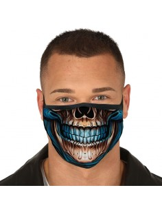 Mascarilla reutilizable 3 capas Skull
