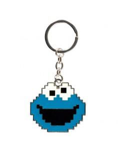 Llavero Cookie Monster Barrio Sesamo
