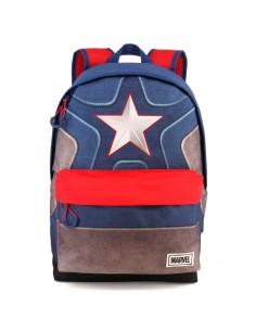 Mochila Capitan America Marvel adaptable 42cm