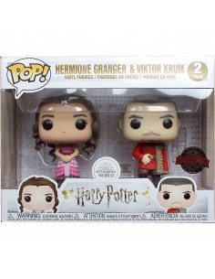 Set 2 figuras POP Harry Potter Hermione and Krum Yule Exclusive