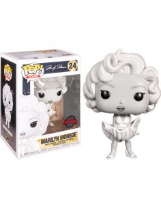 Figura POP Marilyn Monroe Black and White Exclusive