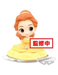 Figura Bella La Bella y la Bestia Disney Q Posket B 14cm