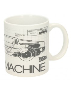 Taza Time Machine Regreso al Futuro