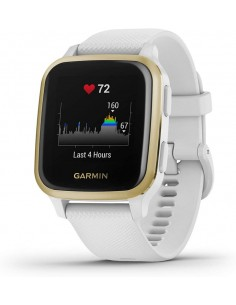 SMARTWATCH GARMIN VENU SQ NFC BLANCO LIGHT GOLD