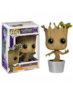 Figura POP Marvel Guardianes de la Galaxia Dancing Groot