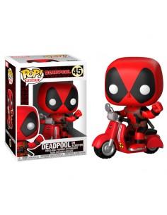 Figura POP Marvel Deadpool Scooter