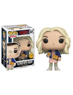 Figura POP Stranger Things Eleven with Eggos Chase