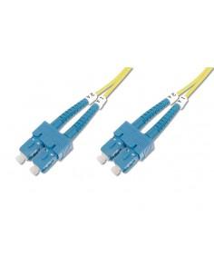 CABLE CONEXION FIBRA OPTICA DIGITUS SM SC a SC OS2 09 125 2m