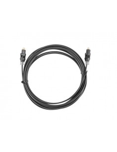 CABLE TOSLINK LANBERG OPTICO AUDIO DIGITAL 2M NEGRO