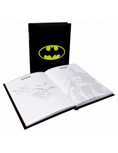 Diario luz logo Batman DC Comics