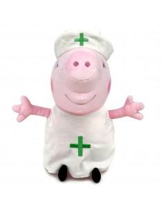 Peluche Enfermera Peppa Pig 27cm