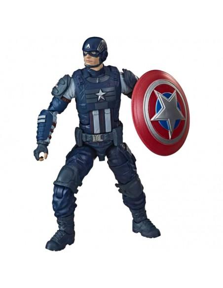 Figura Legends Gameverse Capitan America Vengadores Avengers Marvel 15cm