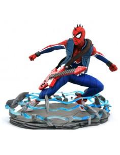 Estatua Spider Punk Spiderman Marvel 18cm