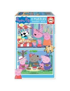 Puzzle Peppa Pig 2x25pz