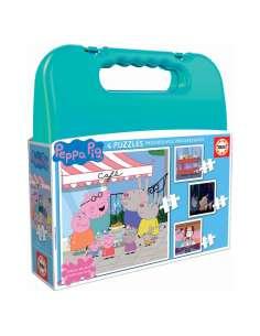 Puzzle Maleta Progresivos Peppa Pig