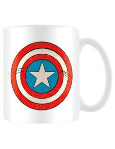 Taza Escudo Capitan America Marvel