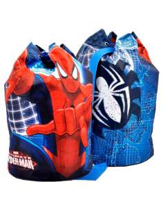 Mochila tubo Spiderman Marvel 38cm