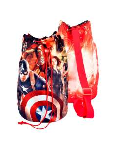 Mochila tubo Vengadores Avengers Marvel 38cm