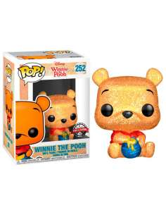 Figura POP Disney Winnie the Pooh Seated Pooh Glitter Exclusive
