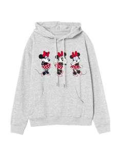 Sudadera capucha Minnie Disney adulto