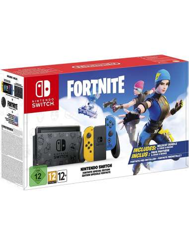 CONSOLA NINTENDO SWITCH PACK FORTNITE