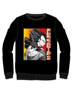 Sudadera Goku y Vegeta Dragon Ball Z adulto