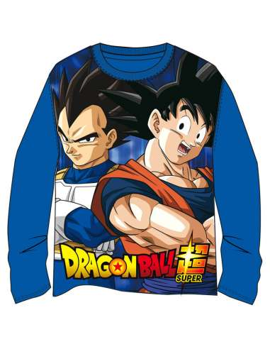 Camiseta Goku Vegeta Dragon Ball Super